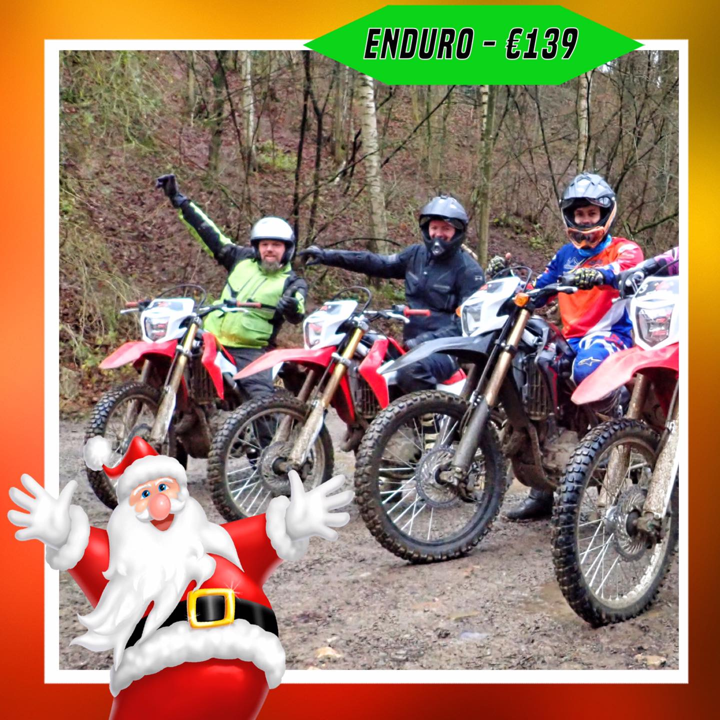 Kerst-initiaties Bilstain Endurofun 10
