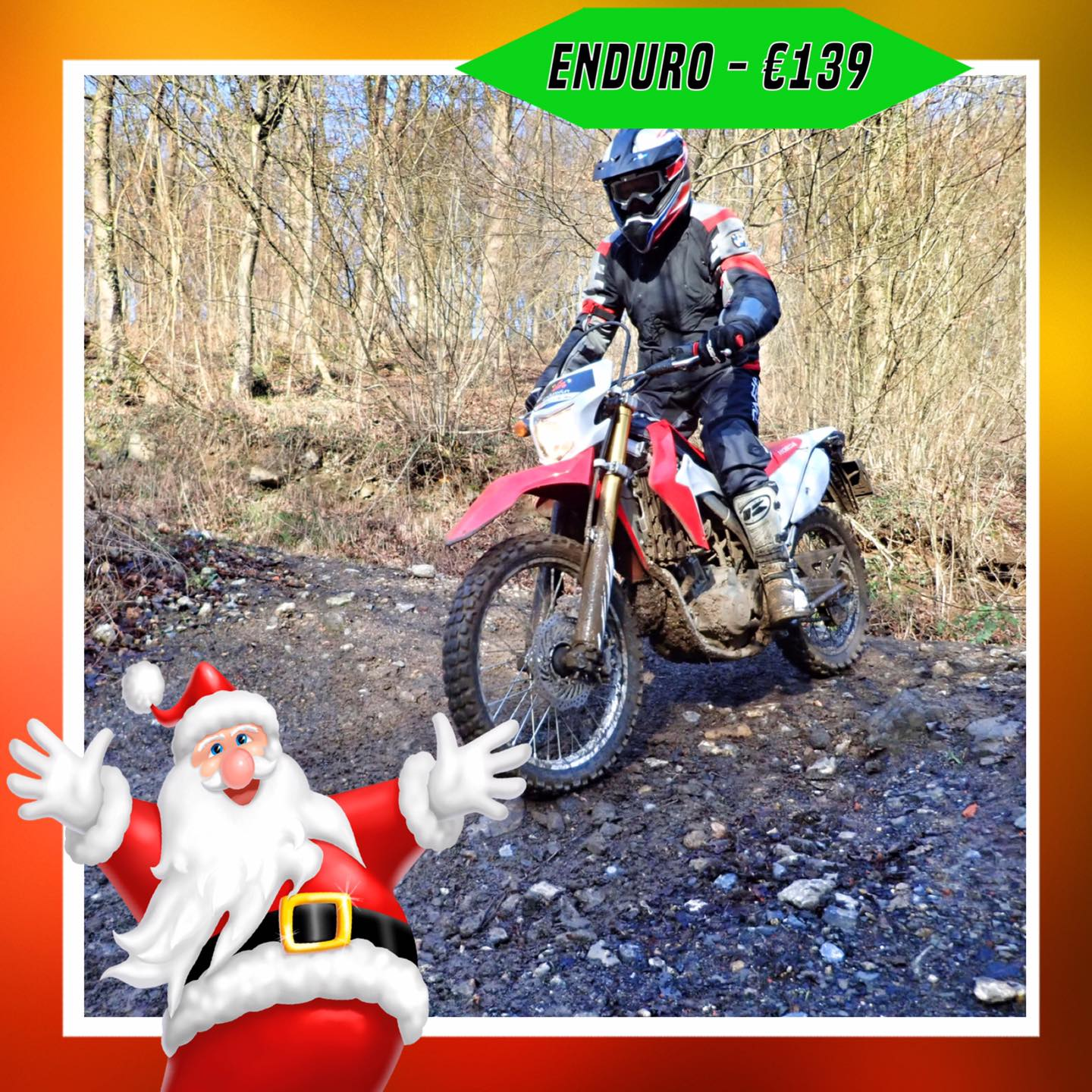 Kerst-initiaties Bilstain Endurofun 12