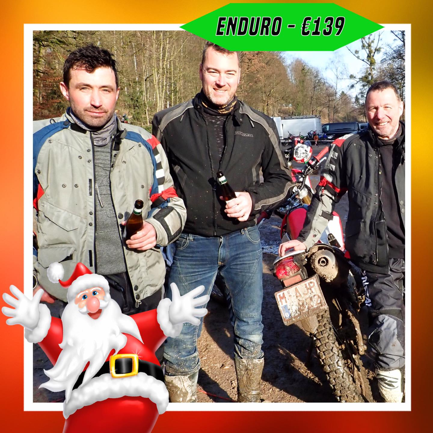 Kerst-initiaties Bilstain Endurofun 15