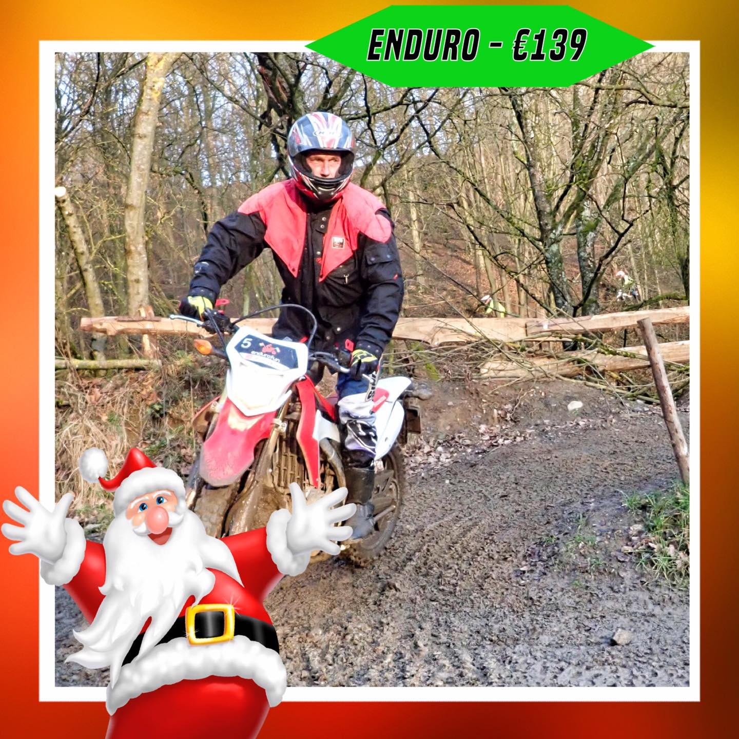Kerst-initiaties Bilstain Endurofun 16