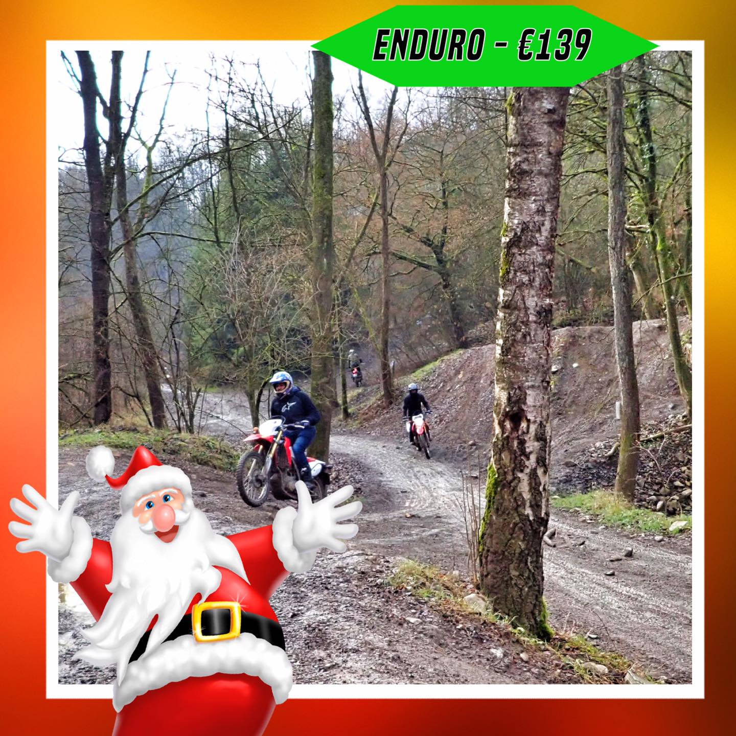 Kerst-initiaties Bilstain Endurofun 18