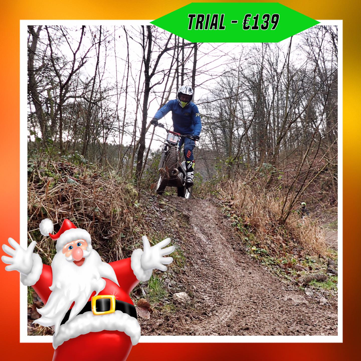 Kerst-initiaties Bilstain Endurofun 25