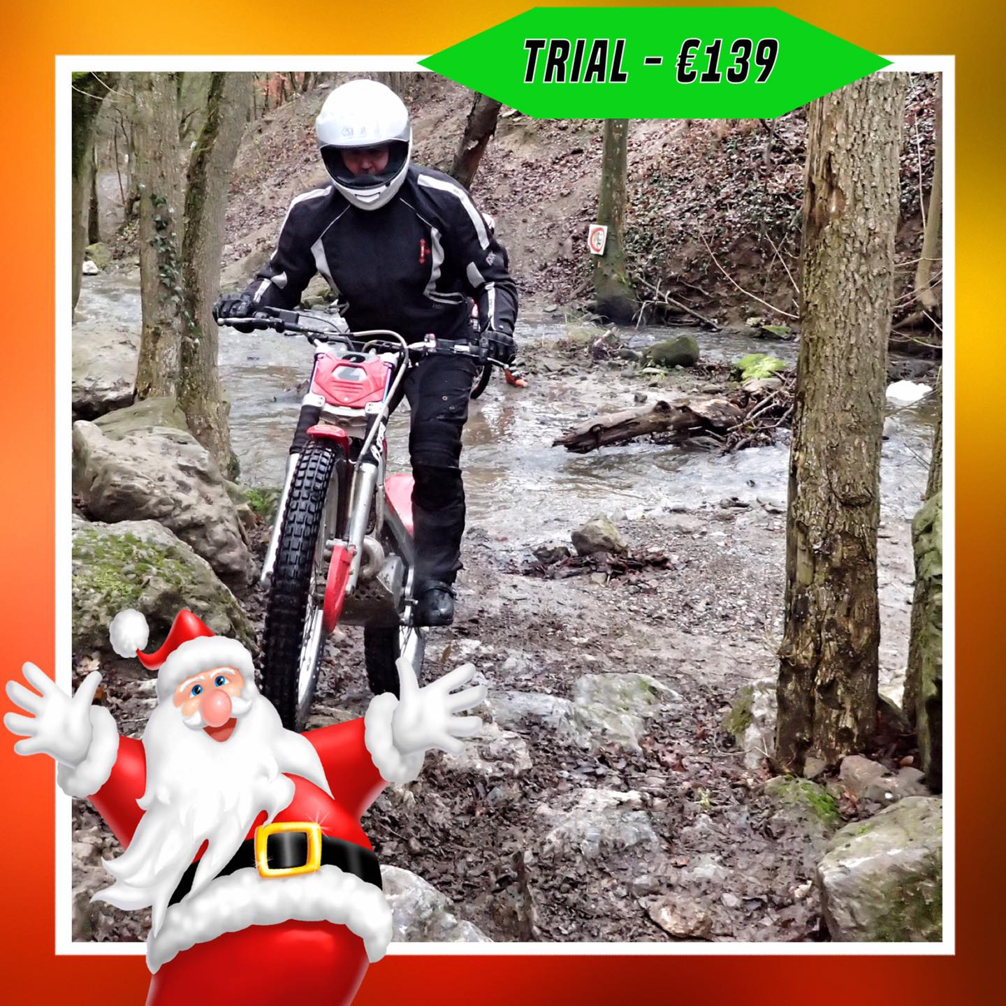 Kerst-initiaties Bilstain Endurofun 30