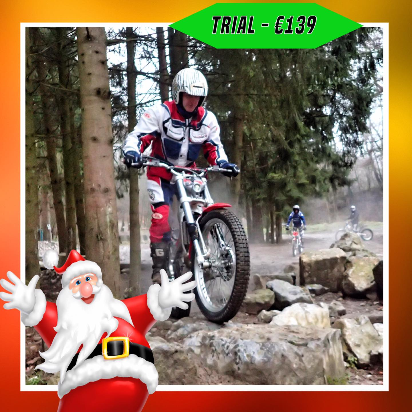 Kerst-initiaties Bilstain Endurofun 31