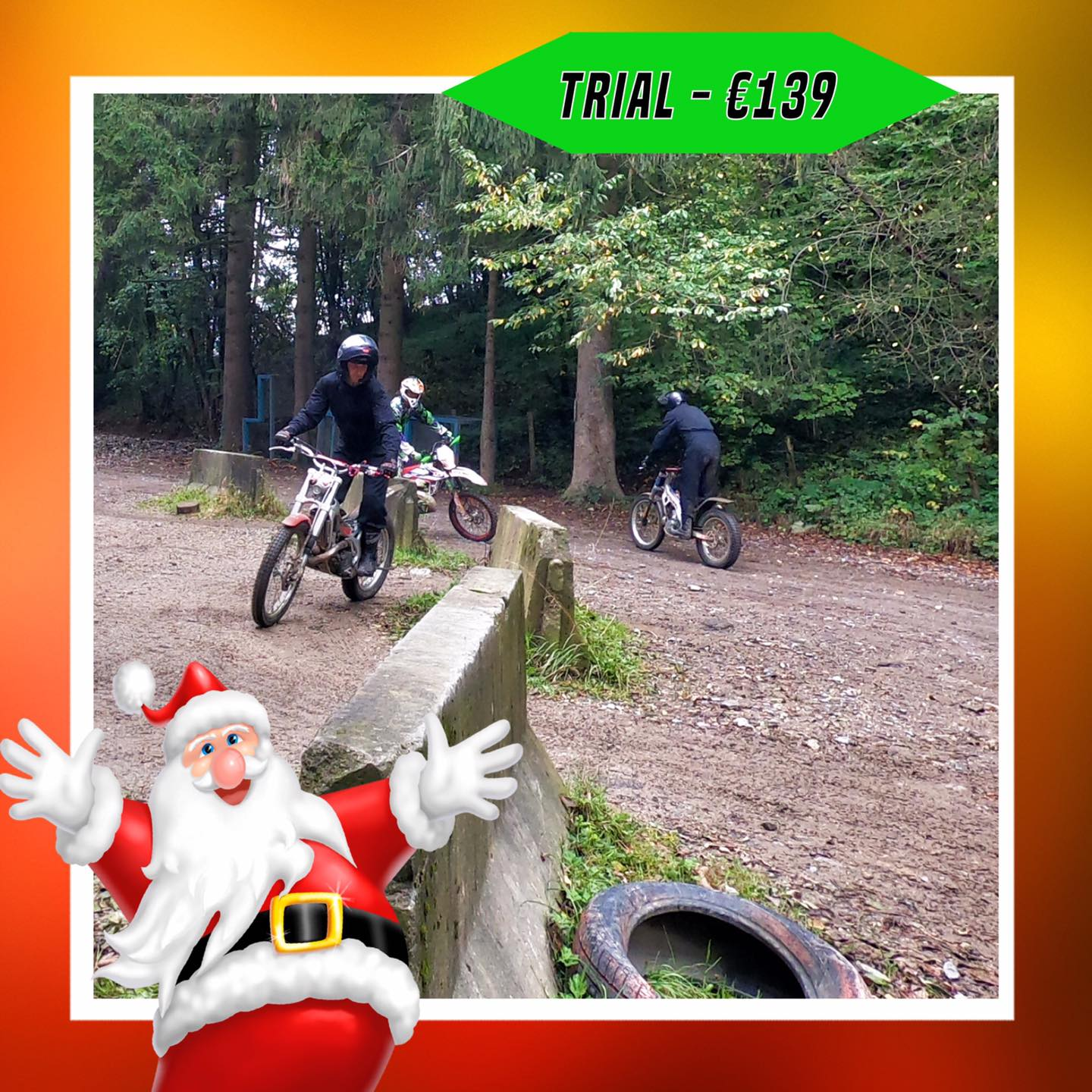 Kerst-initiaties Bilstain Endurofun 32