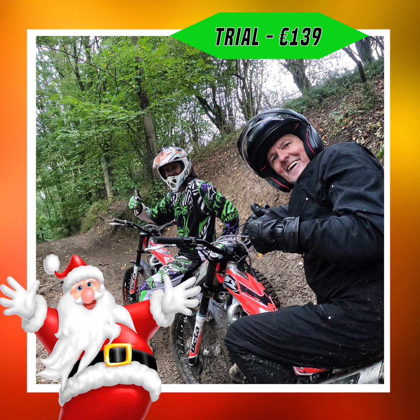 Kerst-initiaties Bilstain Endurofun 34