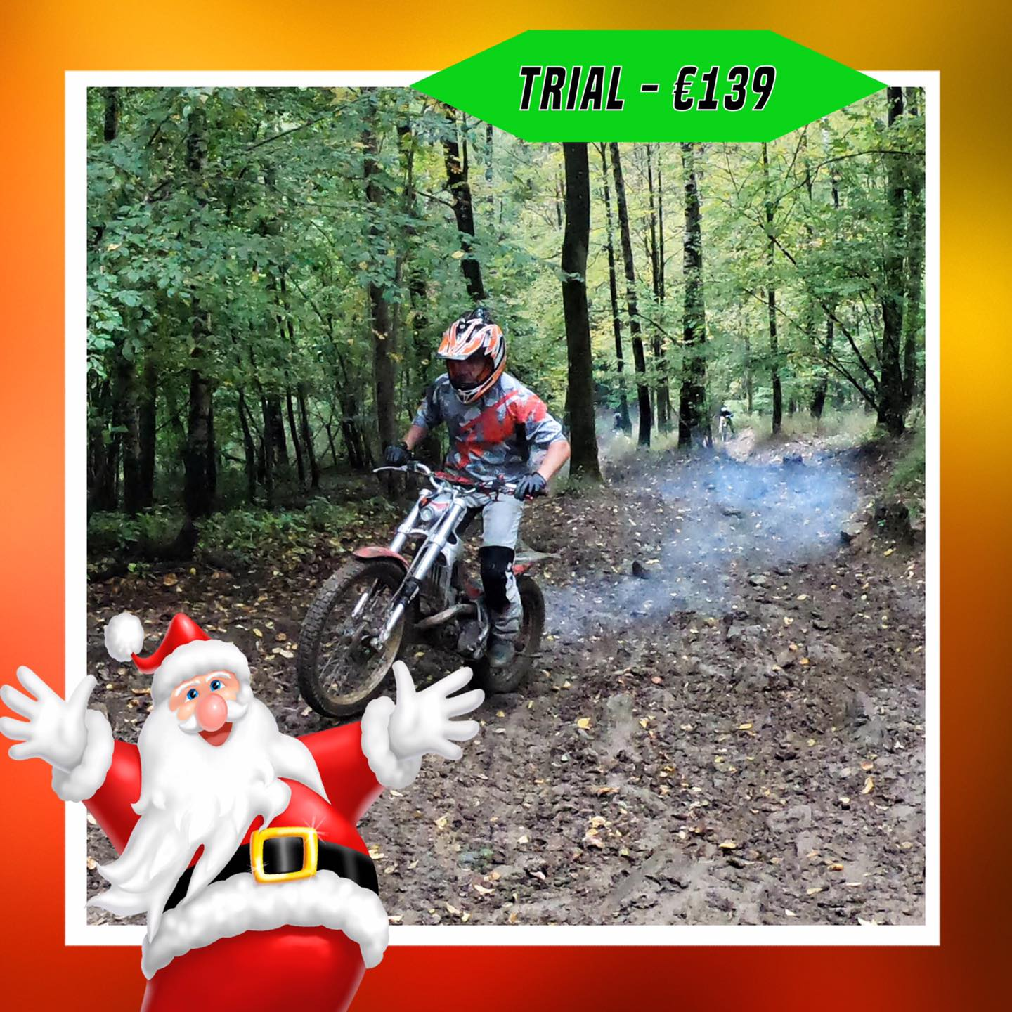Kerst-initiaties Bilstain Endurofun 35