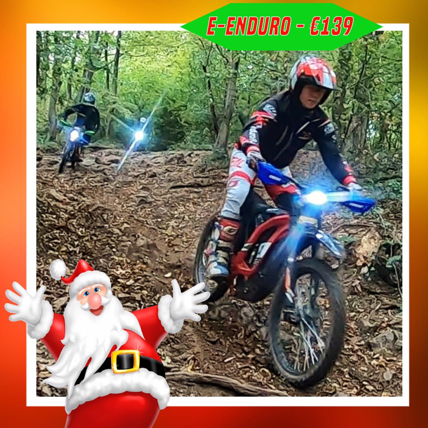 Kerst-initiaties Bilstain Endurofun 36 Surron