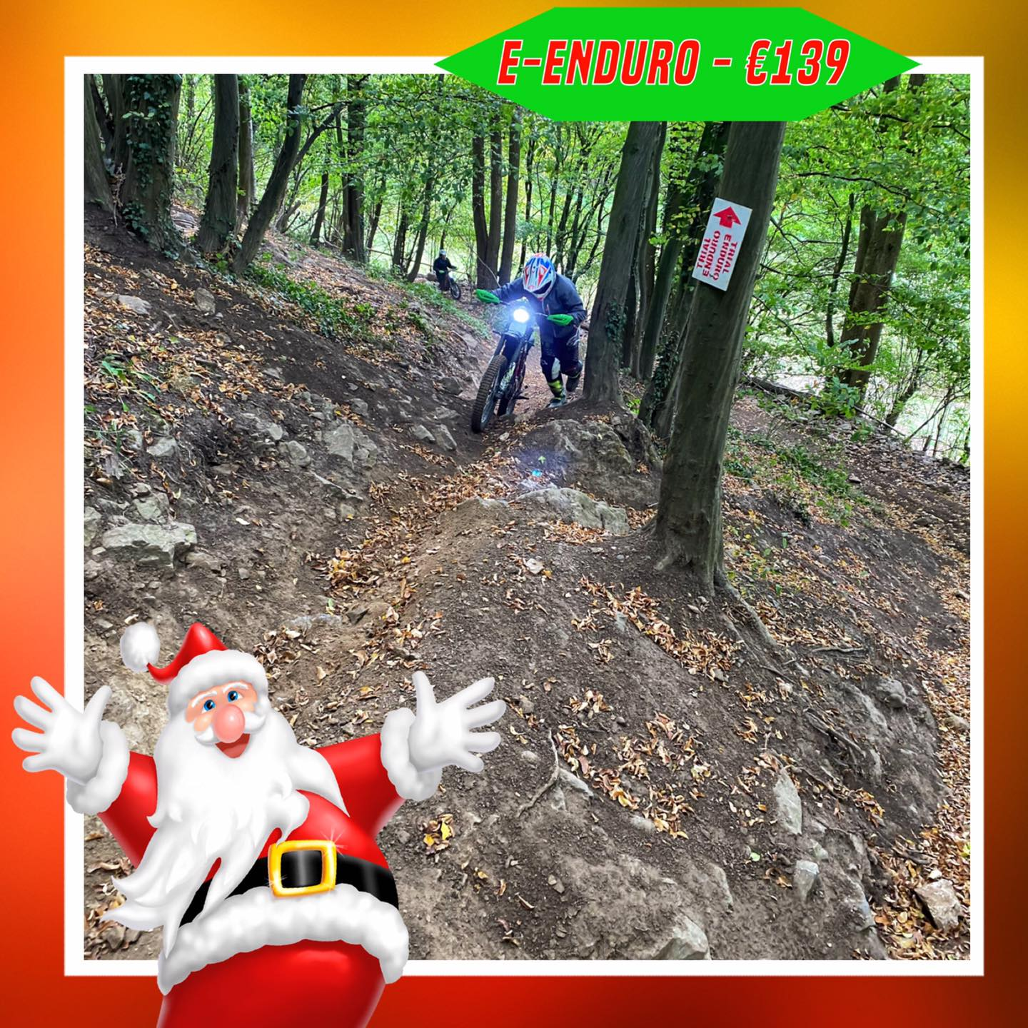 Kerst-initiaties Bilstain Endurofun 40 Surron