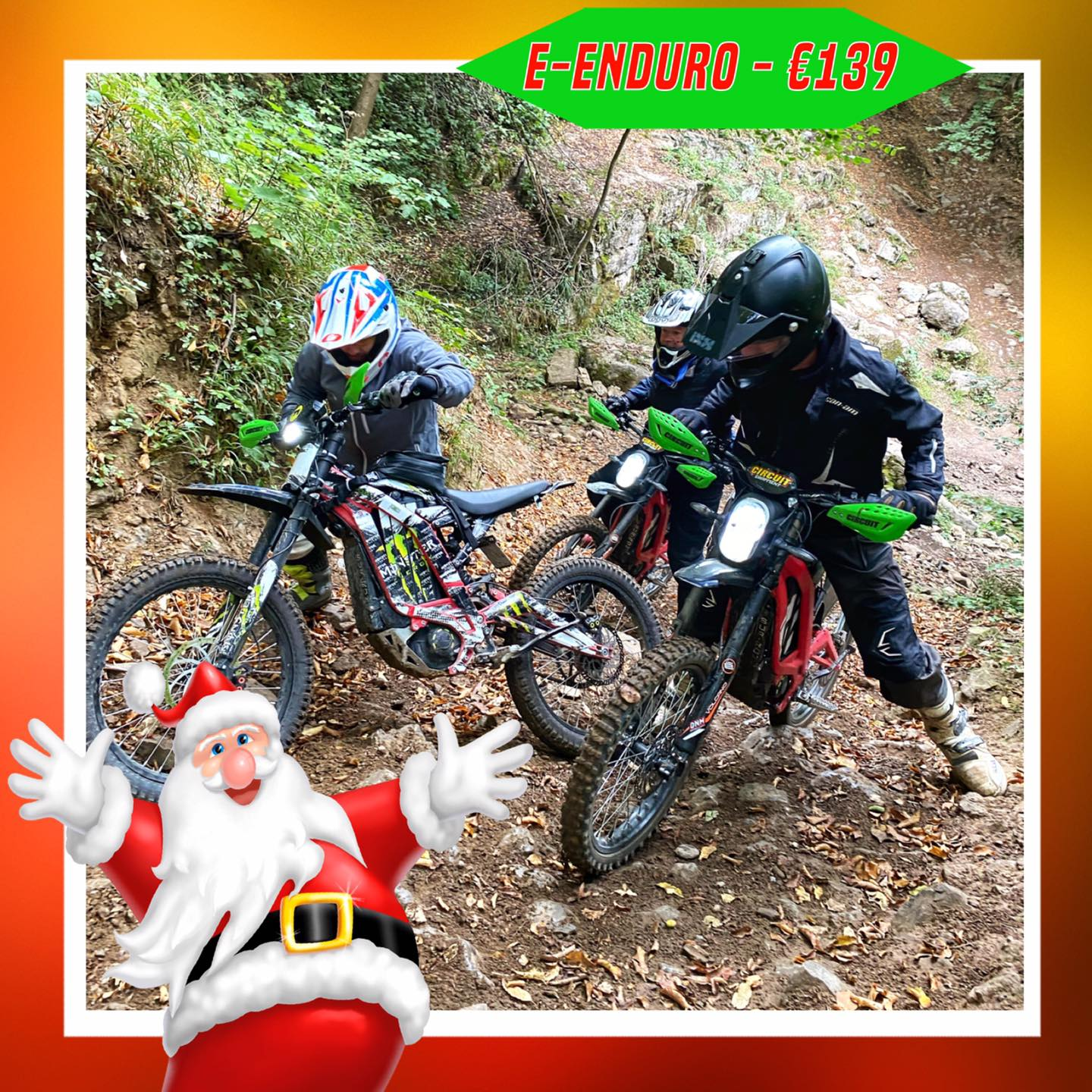 Kerst-initiaties Bilstain Endurofun 41 Surron
