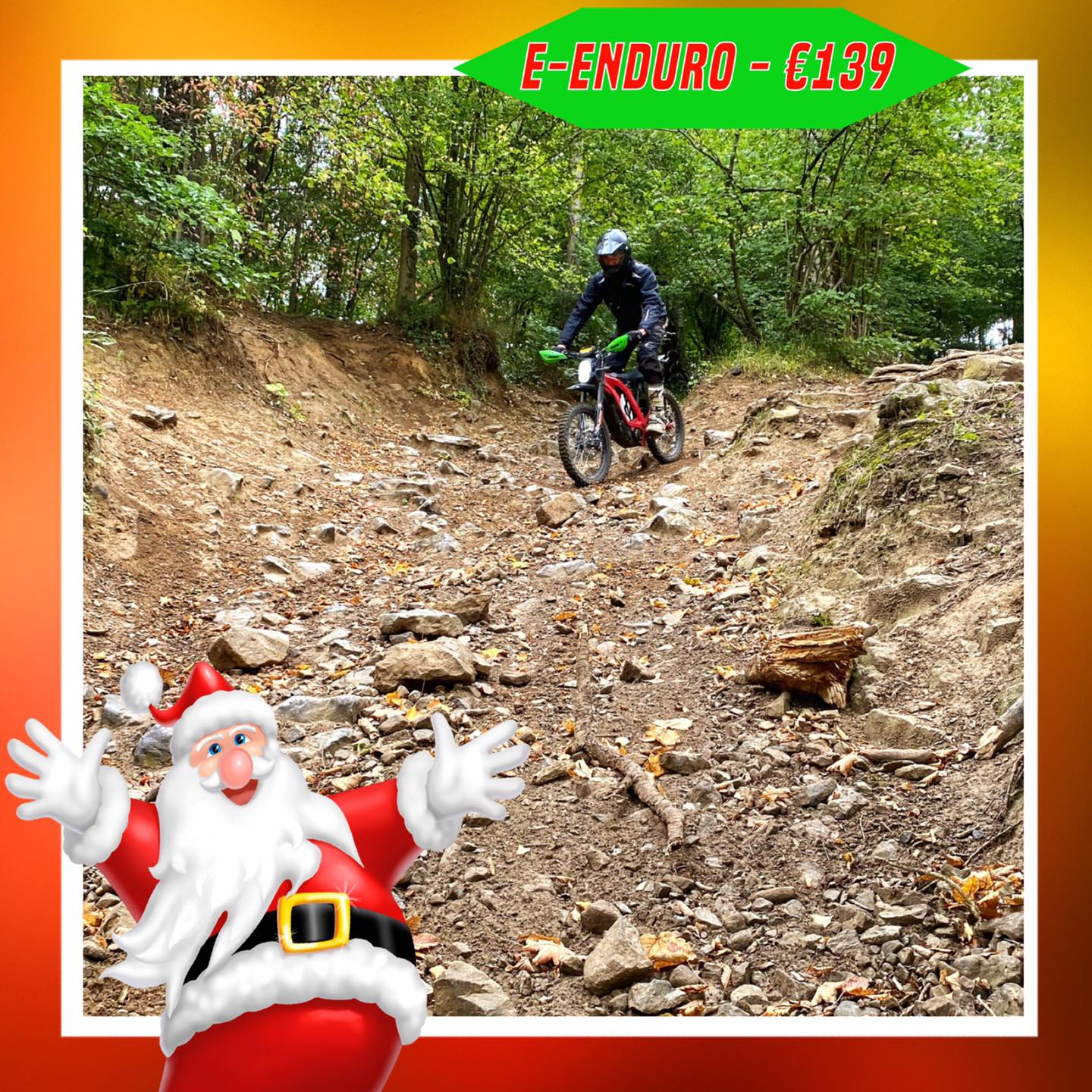 Kerst-initiaties Bilstain Endurofun 44 Surron
