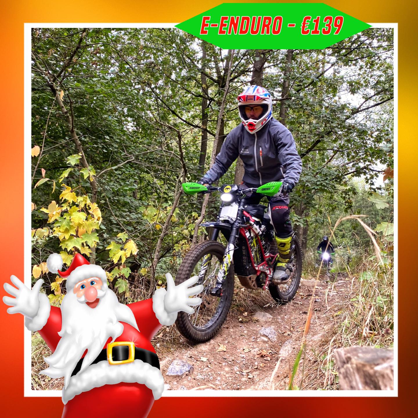Kerst-initiaties Bilstain Endurofun 47 Surron