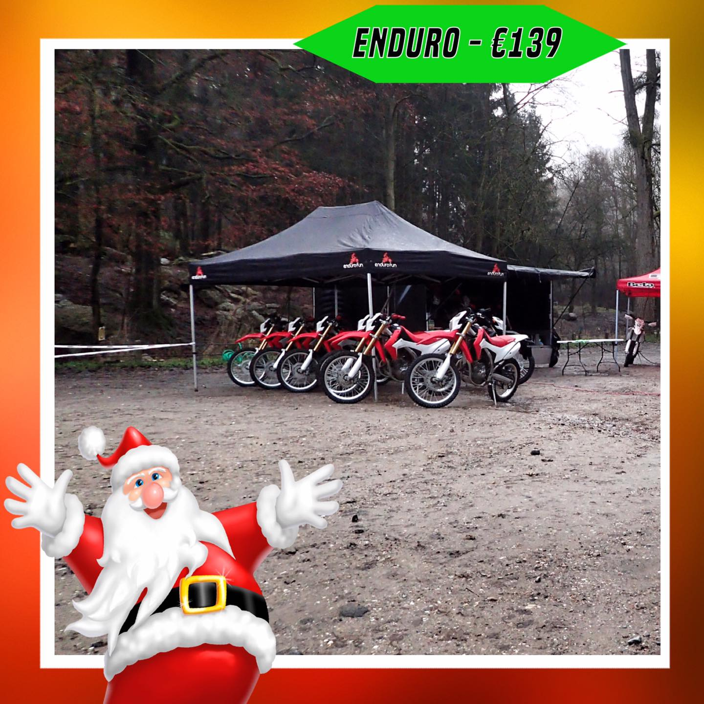 Kerst-initiaties Bilstain Endurofun 5