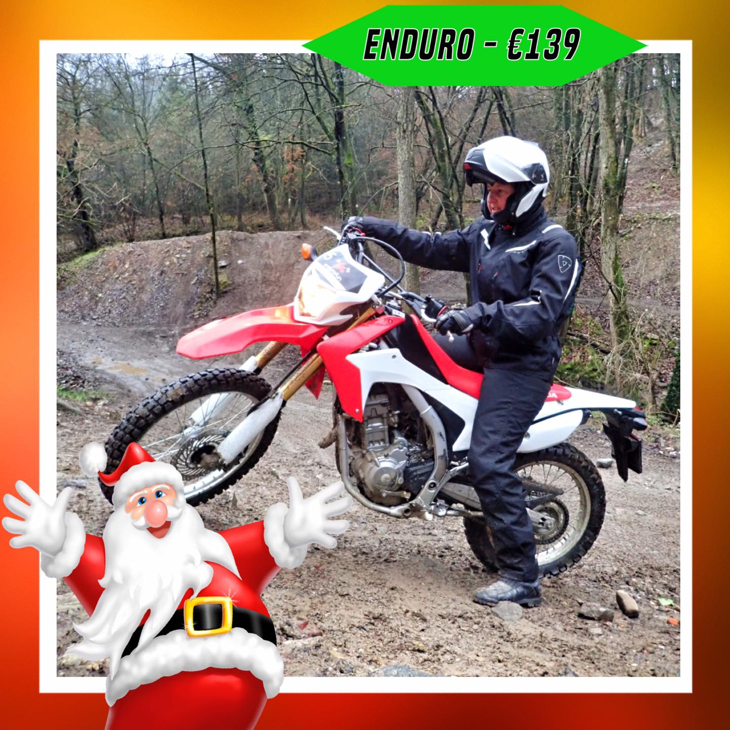Kerst-initiaties Bilstain Endurofun 7